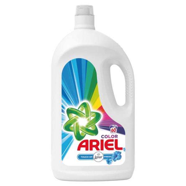 Ariel течен перилен препарат Lenor Touch (60 пранета)