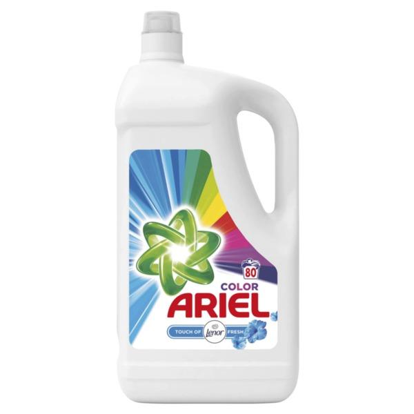Ariel течен перилен препарат Lenor Touch (80 пранета)