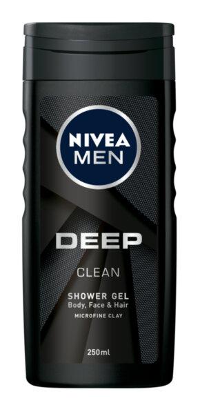 Nivea Men душ гел Deep