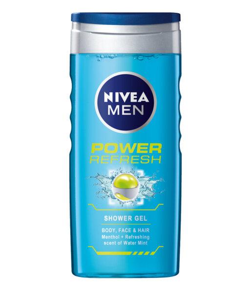 Nivea Men душ гел Power Fresh