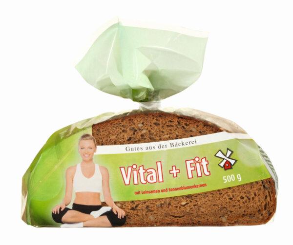 Gutes aus der Baeckerei пълнозърнест хляб Vital & Fit