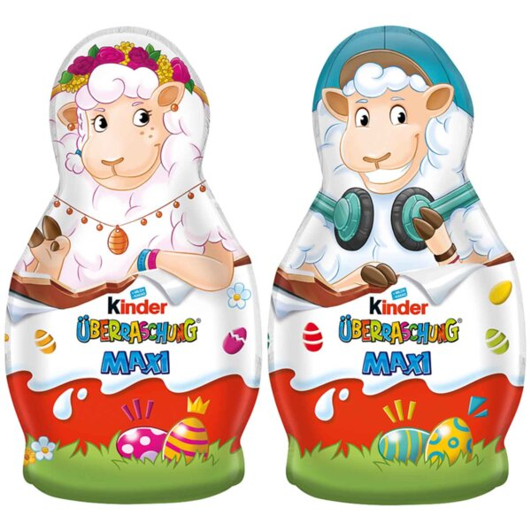 Kinder шоколадова фигурка овца