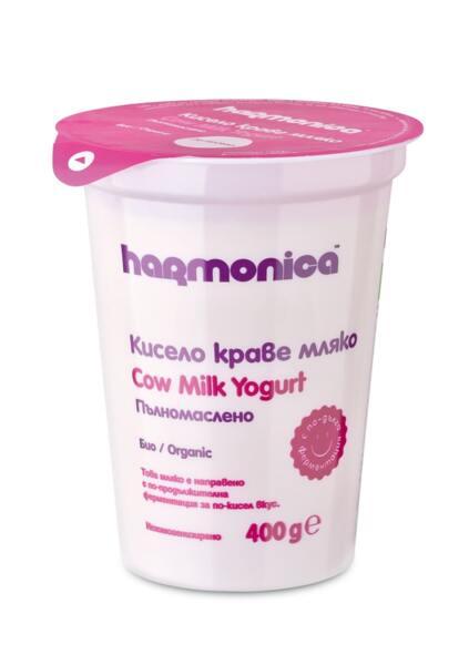 Harmonica био пълномаслено кисело мляко