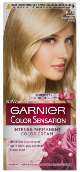 Garnier Color Sens боя за коса кристално бежаво рус 9.13