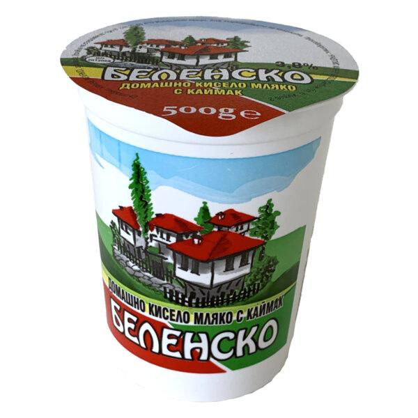 Беленско краве кисело мляко 3.8%