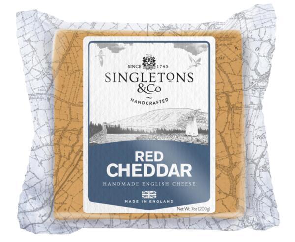 Singleton's ръчно произведен чедър