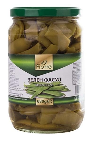 Fiorre зелен фасул (680 г)