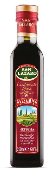 San Lazaro червен балсамов оцет (250 мл)