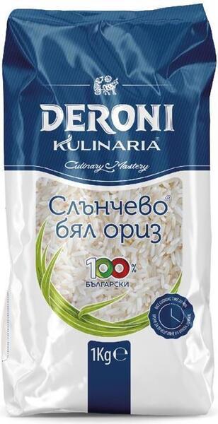 Deroni слънчево бял ориз (1 кг)