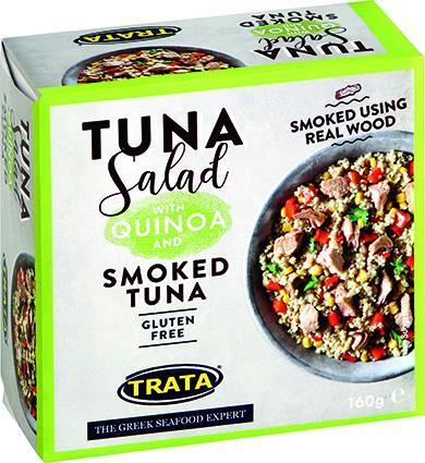 Trata салата с пушена риба тон и киноа (160 г)