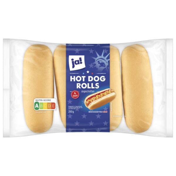 JA! хот дог хлебчета