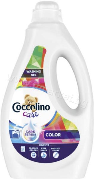 Coccolino Care Color Washing Gel Течен Перилен Препарат за Цветни Дрехи 1.8л./45 Пранета