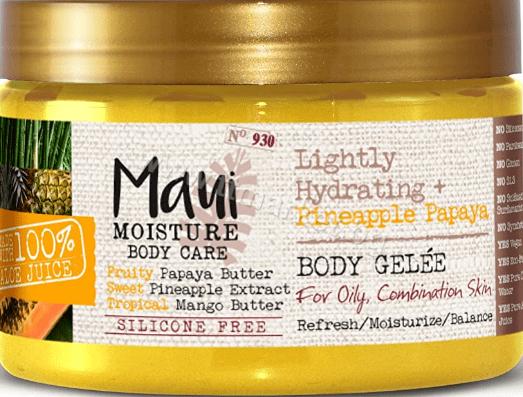 Maui Pineapple Papaya Lightly Hydrating Body Jelly Бутер за Тяло Желе с Ананас и Папая 340 гр Английско Качество