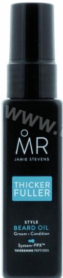 Mr Jamie Stevens Thicker Fuller Style Beard oil Стилизиращо Олио за Брада 50 мл. Английско Качество