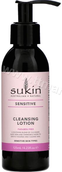 Sukin Sensitive Cleansing Lotion Измиващ Крем Лосион за Чувствителна Кожа Без Парабени 125 мл. Английско Качество