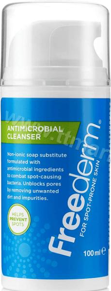Freederm Antimicrobial Cleanser Антимикробен и антибактериален Измиващ Крем за Лице 100 мл. Английско Качество