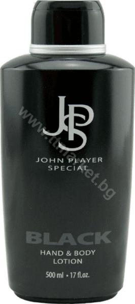 John Player Special Black Hand and Body Lotion Мъжки Парфюмен лосион за Тяло и Ръце 500 мл. Италианско Качество