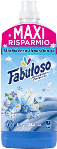 Fabuloso Fresco MattinoКонцентриран Омекотител за Дрехи с Аромат на Свежи Цветя 1.9л. /82 Пранета Италианско Качество