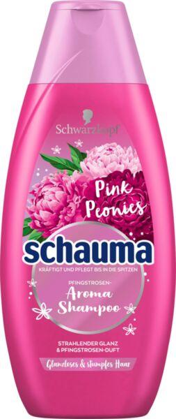 Шампоан за тънка и слаба коса с екстракт от Божур Schauma Pink Peonies Shampoo 400ml