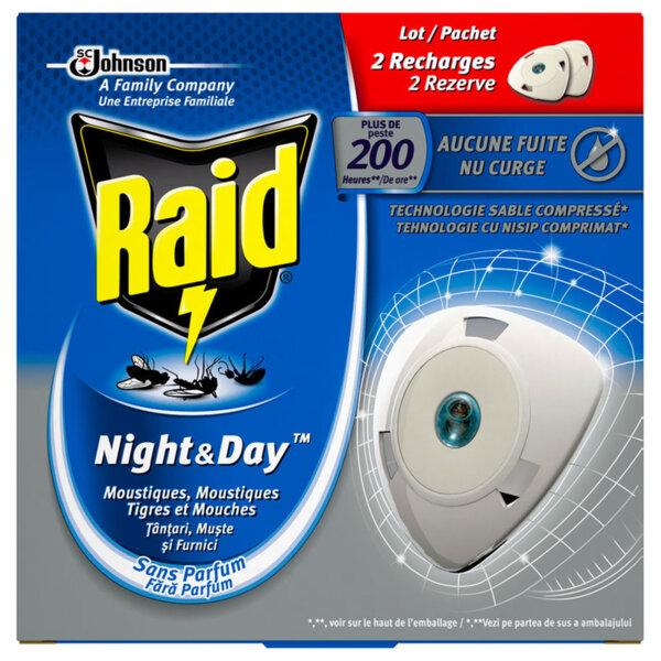 Пълнител за електрически изпарител Raid Night&Day 2бр.
