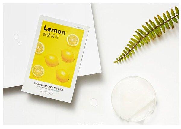 Текстилна маска за лице с Лимон Missha Airy Fit Sheet Mask Lemon 1бр.