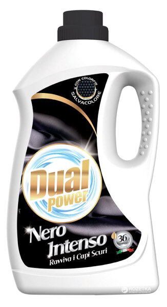 Течен перилен препарт за тъмни тъкани Dual Nero Intenso 1.96l/36пр.