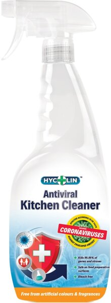 Hycolin  Anti Corona Viruses Kitchen  Антибактериален почистващ препарат за кухня 750 мл.