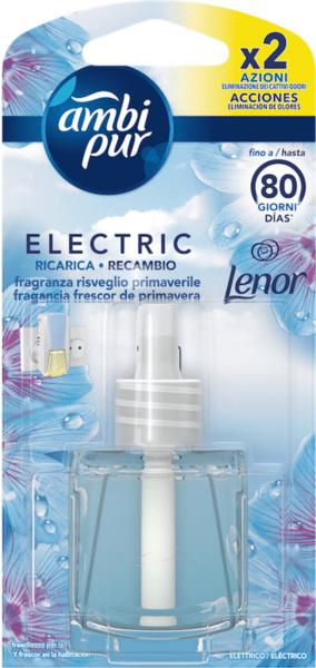 Ambi pur Electric Ricarica Lenor Primavera Пълнител за електрически ароматизатор за въздух с аромат на Ленор 20 мл