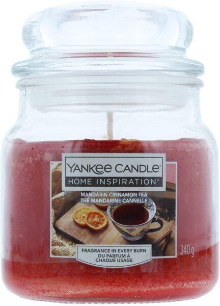 Yankee Candle Home Inspiration Mandarin Cinnamon Tea Ароматна свещ с аромат на Мандарина & Канела 340 гр