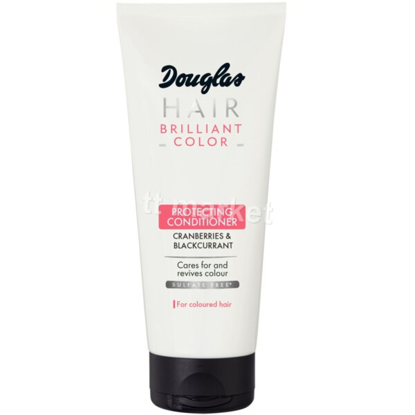 Douglas Brilliant Colour Protecting Conditioner Cranberries & Blackcurrant  Балсам за боядисана коса 75 мл