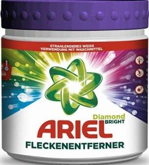 Ariel Fleckenentferner Diamond Bright Прахообразен препарат срещу петна за цветни дрехи 500 гр Немско качество