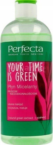 Perfecta Your Time is Green Plyn Micelarny Мицеларна Вода 400 мл.