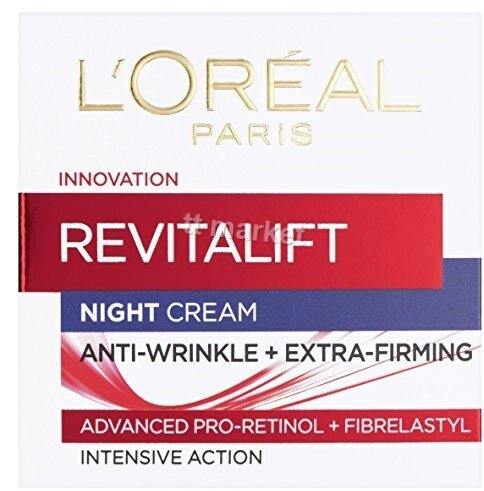 Lorel Paris Revitalift Hydrating Night Cream Anti-Wrinkle Нощен Крем за Лице Против Бръчки 50 мл.