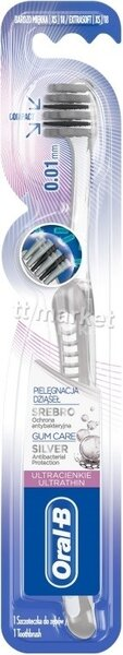 Oral- B Silver Ultra Thin Toothbrush Четка за Зъби със Сребро 1 бр. Немско Качество