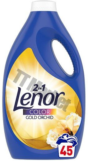 Lenor 2in1 Color Gold Orchid Течен перилен препарат 2.475л./45пр.