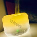 Aroma diffuser Life of Leisure Арома дифузер за етерични масла, ултразвуков, с таймер, 7 LED цвята, 500 мл.