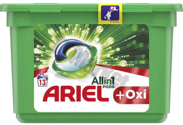 Ariel Allin1 Pods +Oxi Капсули за пране универсални 13 бр.