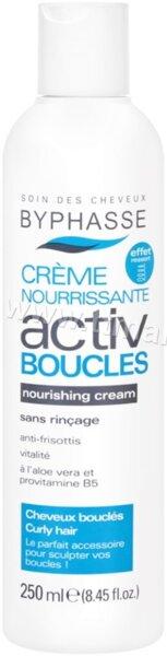 Byphasse Creme Nourrissante Activ Boucles Nourishing Cream Curly Hair Крем за Оформяне на Къдрици 250 мл.