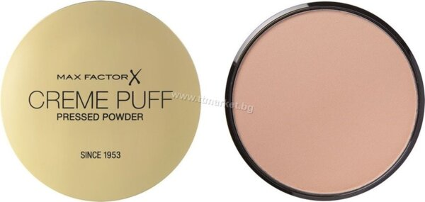 Max Factor Creme Puff Pressed Powder 50 Natural Пудра за Лице 21 гр.