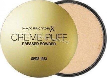Max Factor Creme Puff Pressed Powder 05 TranslucentПудра за Лице 21 гр.