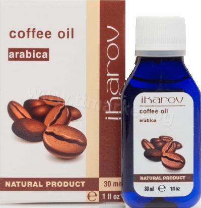 Ikarov Coffee Oil Arabica Икаров Масло от Кафе Арабика 30 мл