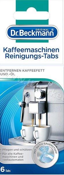 Dr.Beckmann Kaffeemaschinen Reinigungs-Tabs Таблетки за Почистване на Кафе Машини 6 бр. Немско Качество