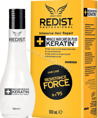 Redist Miracle Hair Care Oils Plus Keratin Професионално Кератиново Олио за Коса 100 мл. Турско Качество
