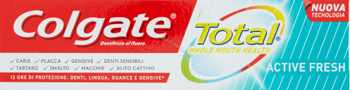 Colgate Total Active Fresh Toothpaste Паста за Зъби с Екстра Свеж Аромат 75 мл.