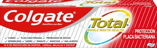 Colgate Total Plaque Protection Toothpaste Паста за Зъби Против Образуване на Плака 75 мл.