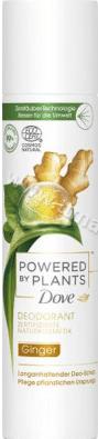 Dove Powered By Plants Ginger Deodorant Дезодорант Спрей Против Изпотяване с Джинджифил 99% Натурални Съставки  75 мл. Немско Качество