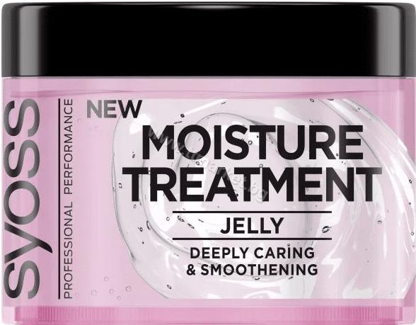 Syoss 2-Way Treatment Jelly Маска за Коса Грижа По 2 Начина за Дълбоко Подхранена и Гладка Коса 200 мл.