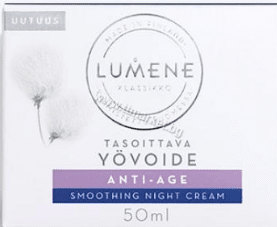 Lumene Anti-Age Smoothing Night Cream Подмладяващ Нощен Крем Против Бръчки 50 мл .