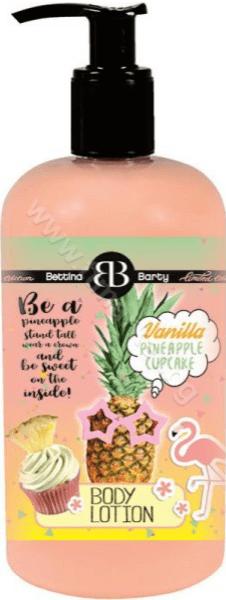 Bettina Barty Vanilla Pineapple Cupcake Body Lotion Лимитирана Серия Лосион за Тяло с Аромат на Ванилово Кексче с Ананас 500 мл.