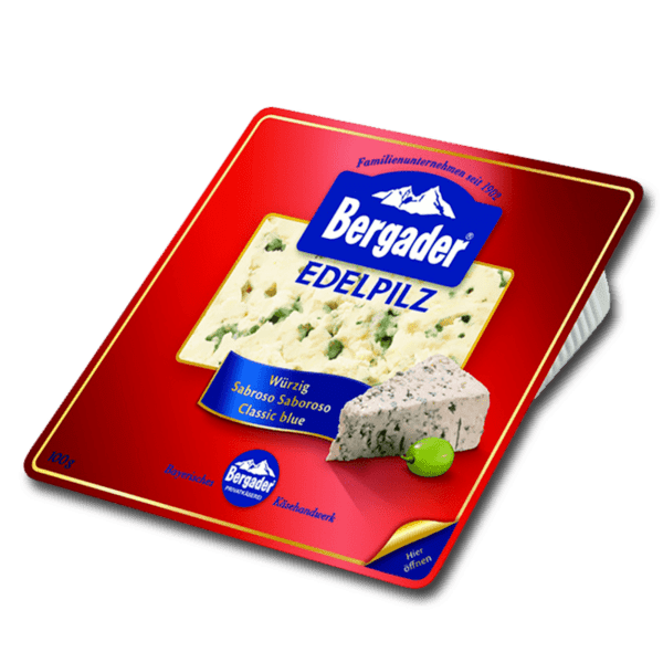 """Bergader"" - СИНЬО СИРЕНЕ"
